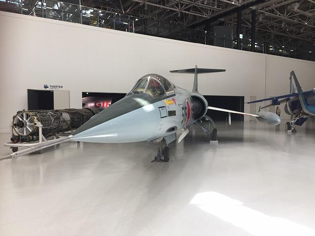 とっても細い、F-104J