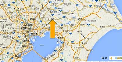驚くほどに、関東。