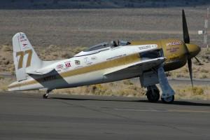 Grumman F8F-2の改造レーサー、RareBear