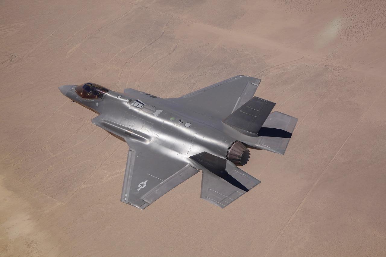話題のF-35A「AF-2」。画像はアメリカ空軍公式サイトよりお借りしました。